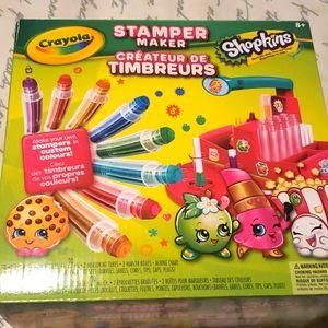 Crayola Shopkins Stamper Maker